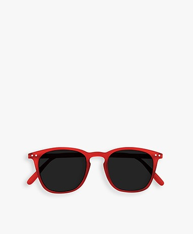 IZIPIZI SUN #E Sunglasses - Red Crystal/Grey Lenses