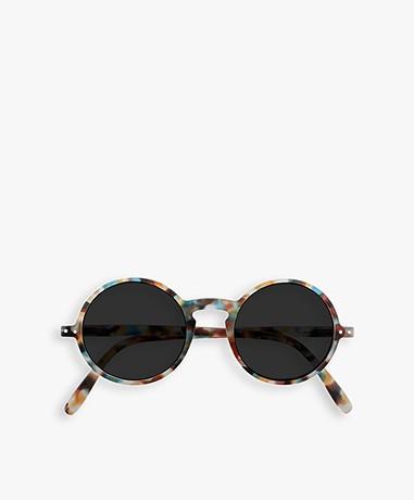 IZIPIZI SUN #G Sunglasses - Blue Tortoise/Grey Lenses