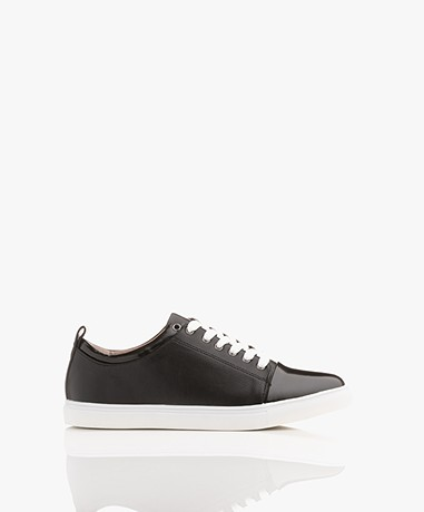 Matt & Nat Gail Sneakers with Patent Details - Chess