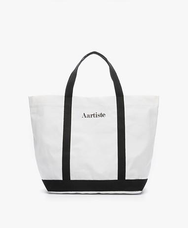 Vanessa Bruno Aartiste Canvas Shopper - Wit