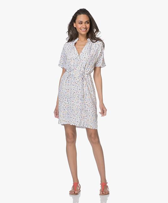 Denham Coast Viscose Dress - Dry Dot Print