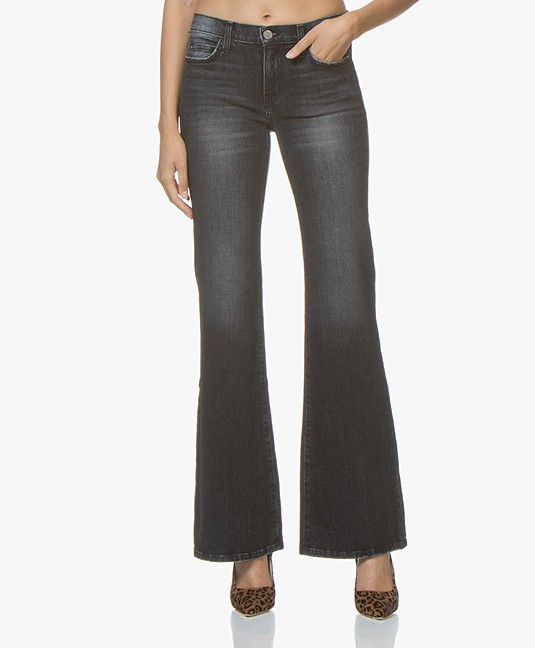 Current/Elliott The Wray Flared Jeans - Torpedo