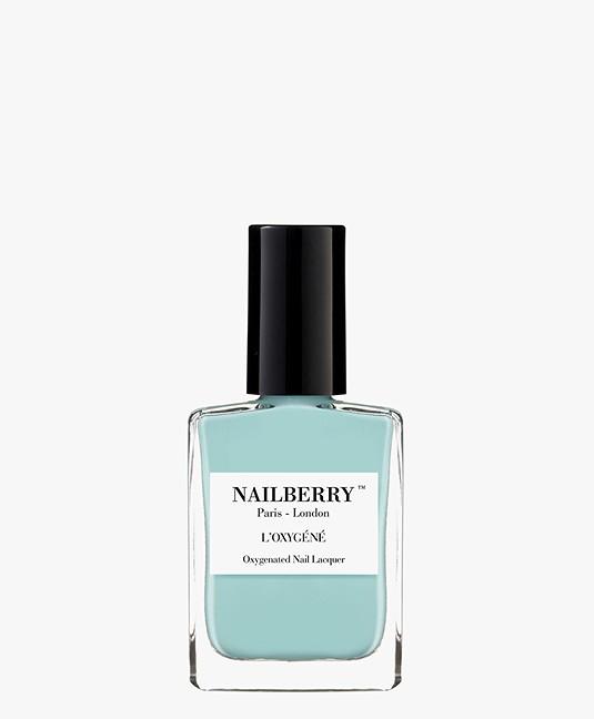 Nailberry L'oxygene Nail Polish - Baby Blue