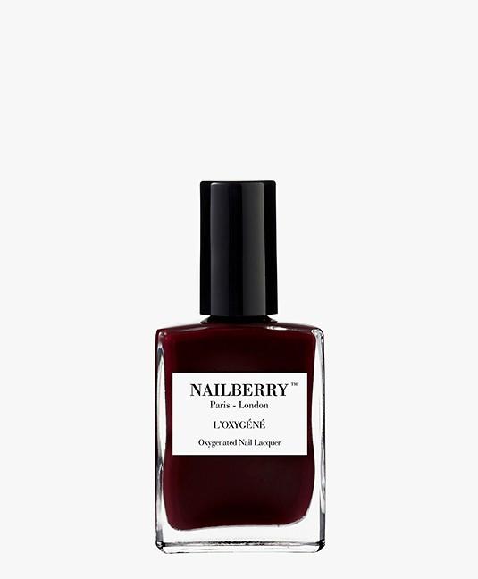 Nailberry L'oxygene Nail Polish - Noirberry