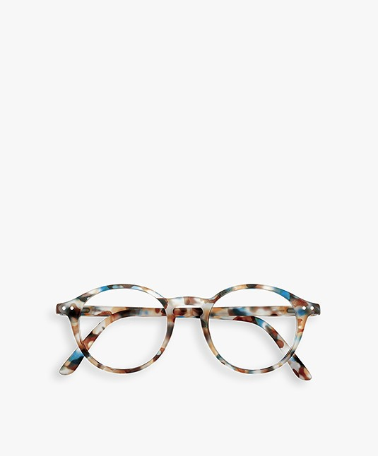 IZIPIZI READING #D Leesbril - Blauw Tortoise