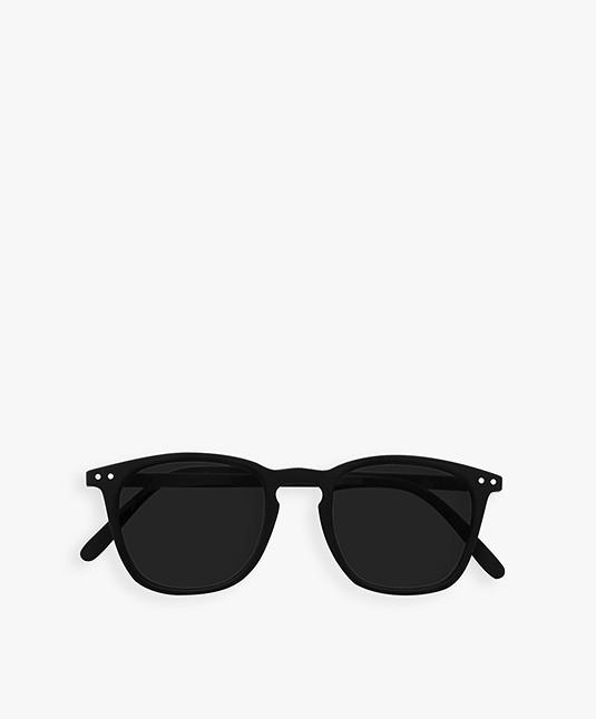 IZIPIZI SUN #E Zonnebril - Zwart/Grijze Glazen