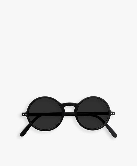 IZIPIZI SUN #G Zonnebril - Zwart/Grijze Glazen