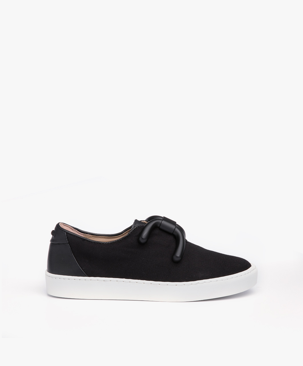 Immagine di An Hour And A Shower Sneakers Livia Low in Black Canvas