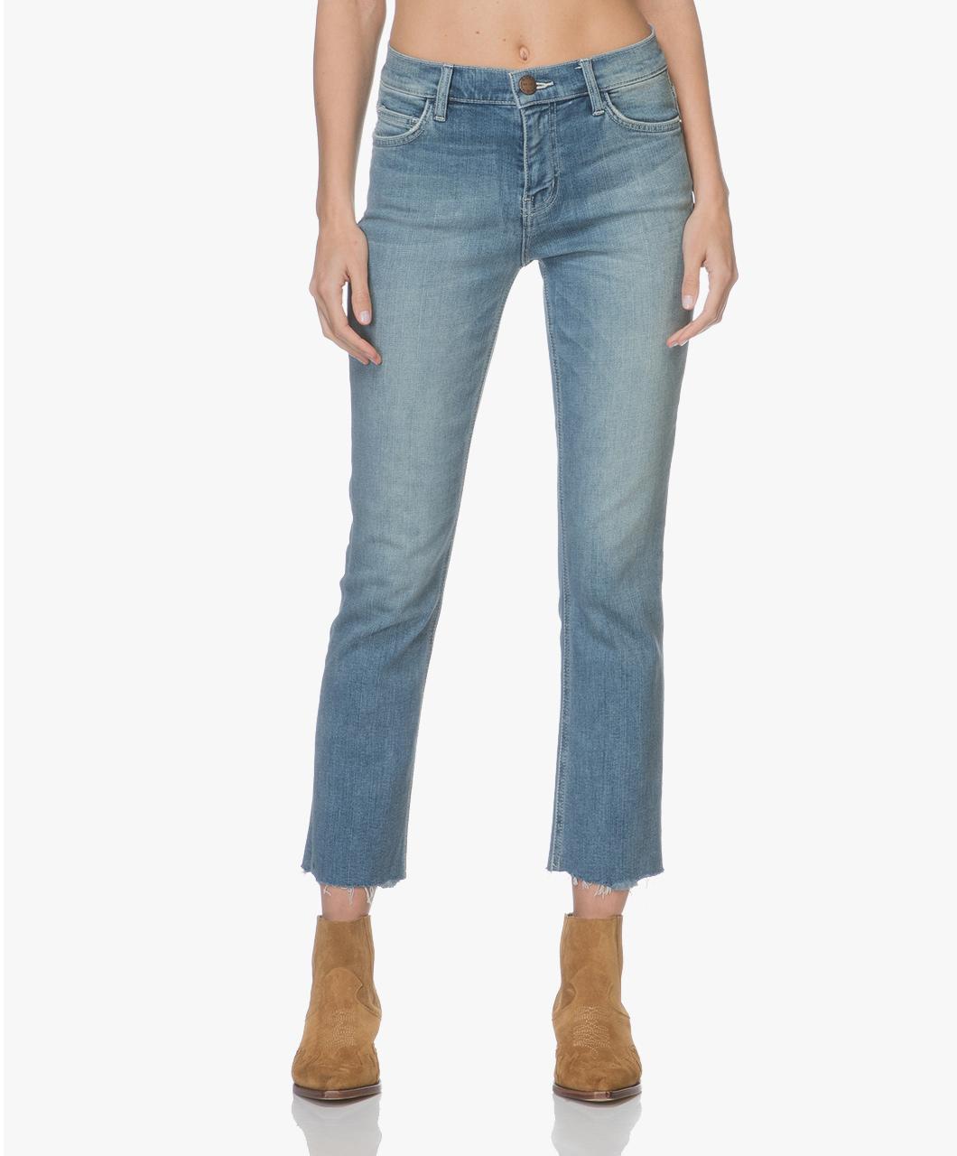 Afbeelding van Current/Elliot Jeans Joey Medium The High Waist Straight