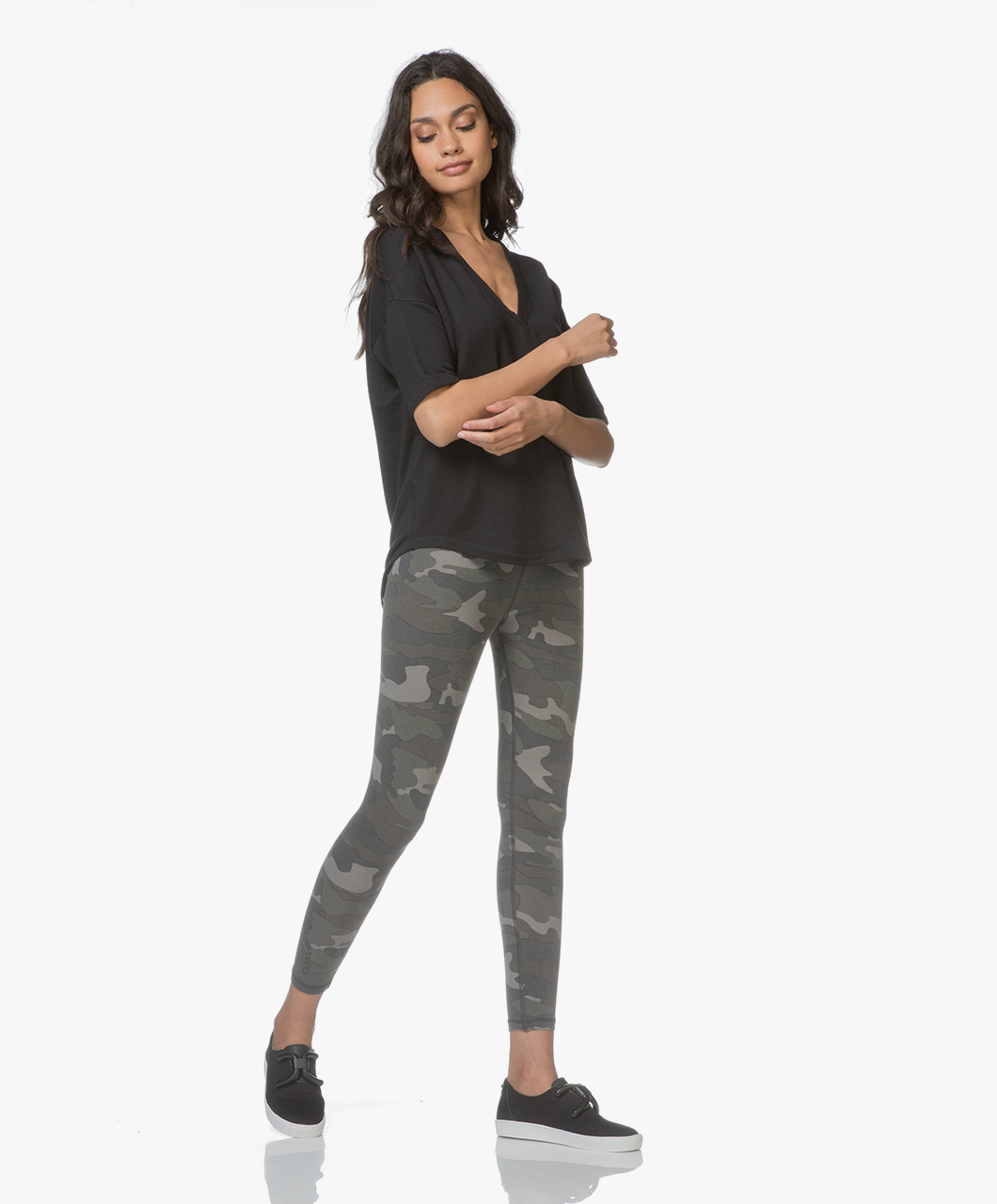 042ce38c4cb12 Ragdoll LA Camo Printed Leggings - Army - camo leggings | s102cm