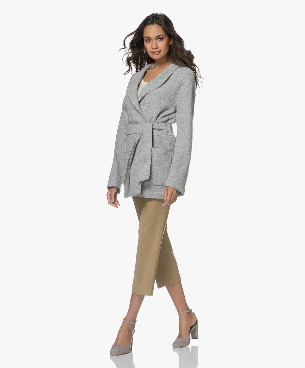 Light Grey K Belt Leia Filippa Jacket qcwTfa01