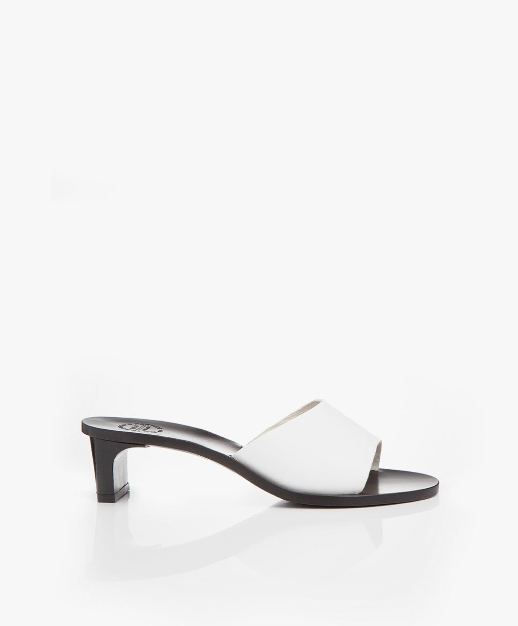 Immagine di ATP Atelier Mules White Peonia Vachetta Leather