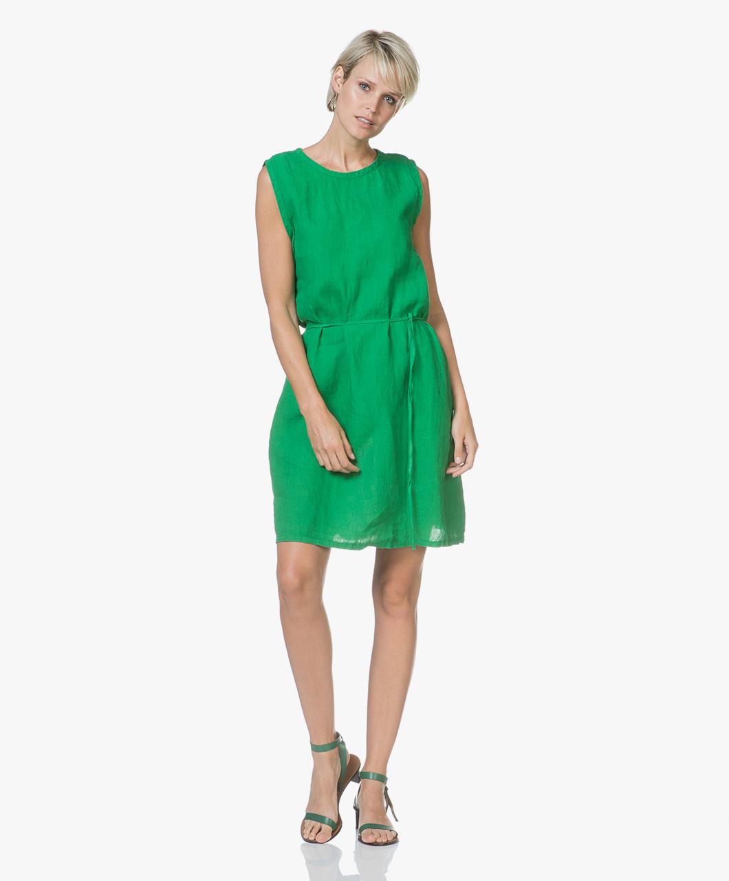 Immagine di American Vintage Dress Pasture Ficobay Sleeveless Linen