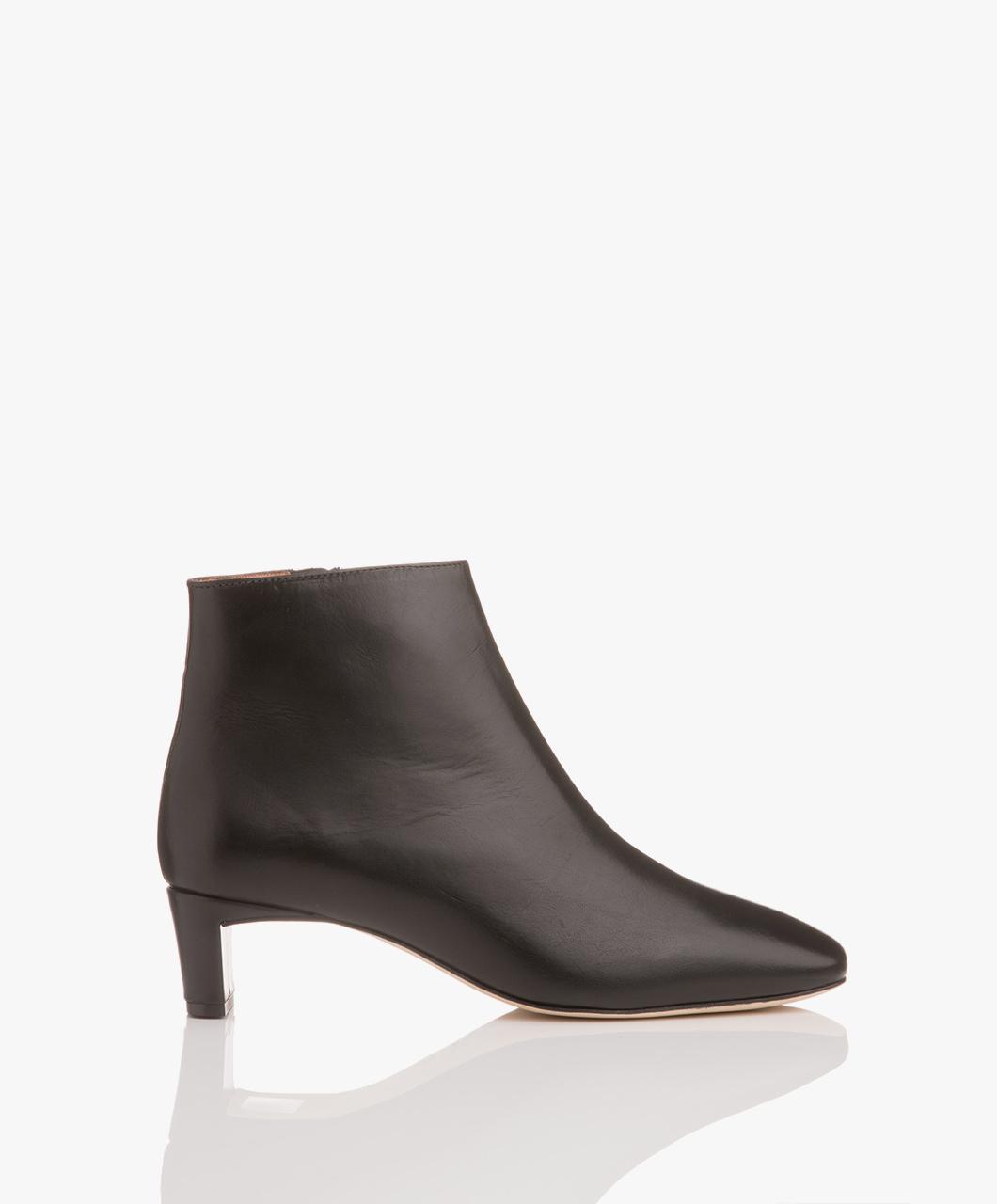 Immagine di ATP Atelier Boots Black Vacchetta Clusia Leather Ankle