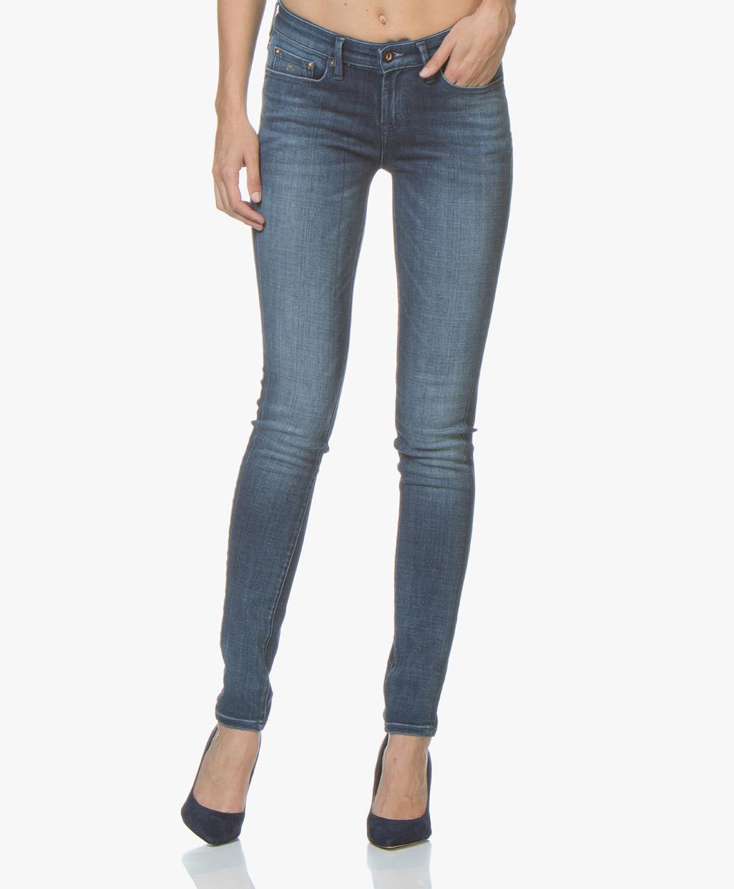 Afbeelding van Denham Jeans Blauw Sharp Skinny Fit
