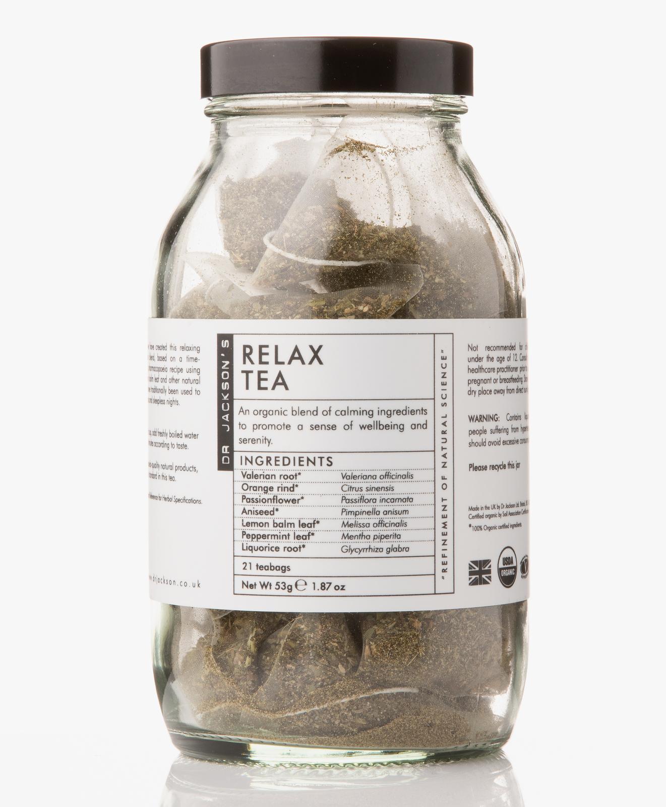 Afbeelding van Dr Jackson's Tea Relax 21 Bags