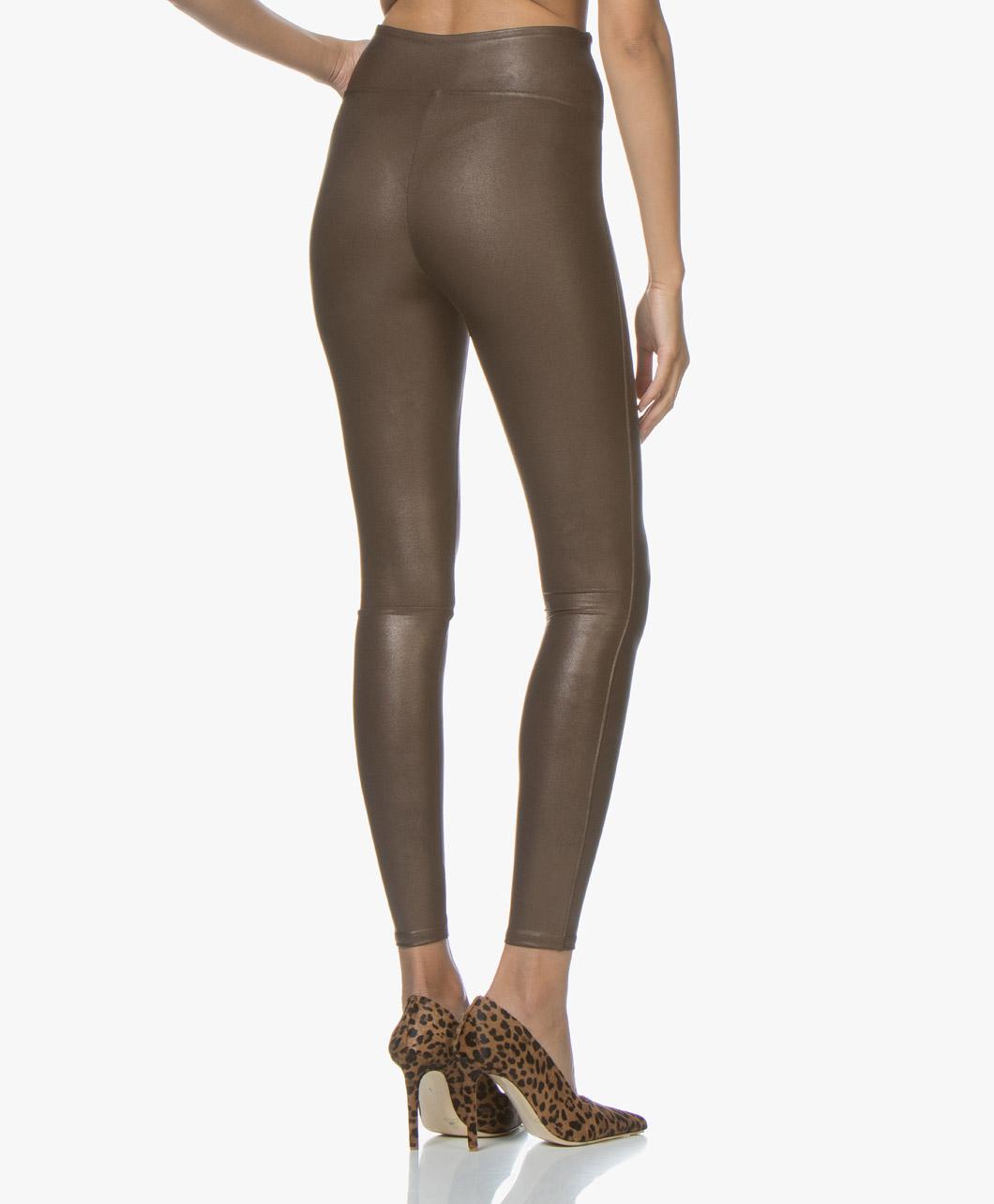 b4a27cf613c74b SPANX® Ready-to-Wow! Faux Leather Leggings - Bronze Metal - spx 2437 0842 -  bronze metal