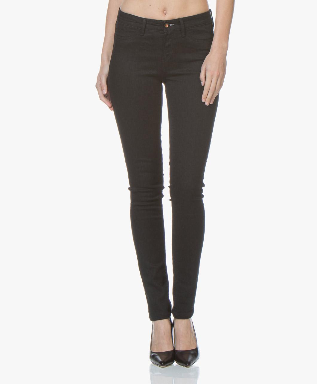Afbeelding van Denham Jeans Spray B30 Skinny in Zwart