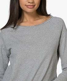 542dd83c44678b American Vintage Sweater Sonoma - Grijs Mêlee - son31 gris chine