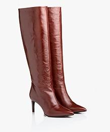 2c9e7de8d66 Rag   Bone Beha Knee-high Leather Boots - Mahogany - w286f214s mhgny