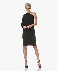 Norma Kamali All-in One Travel Jersey Dress - Black