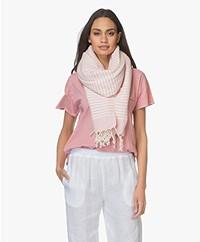 Bon Bini Hammam Towel Nawati 180cm x 90cm - Pink