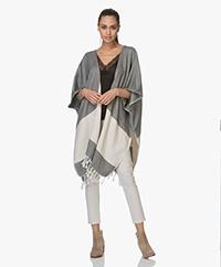 Bon Bini Nikiboko Kimono Ponchovest - Zwart