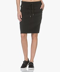 Drykorn Trix Drawstring Skirt - Black
