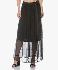 By Malene Birger Fillip Lace Wrap Skirt - Black
