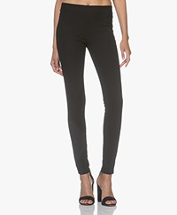 Joseph Gabardine Stretch Leggings - Black
