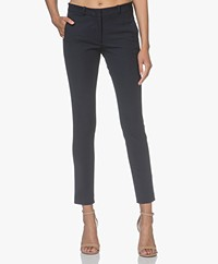 Joseph New Eliston Gabardine Stretch Pants - Navy