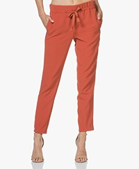 Closed Blanch Cropped Sporty Pants - Copper