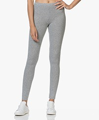 American Vintage Vetington Knitted Leggings - Grey Melange