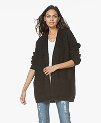By Malene Birger Belinta Mohair Cardigan - Black