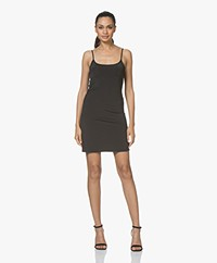 Filippa K Tech Slip Dress - Black