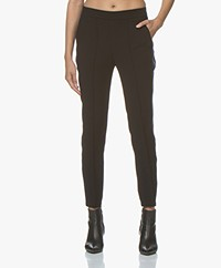 Zadig & Voltaire Porte Tweed Pants - Black