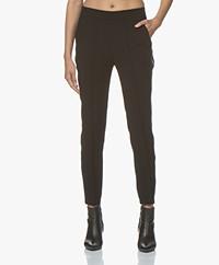 Zadig & Voltaire Porte Tweed Pantalon - Zwart