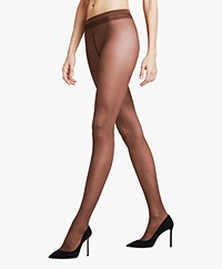 FALKE Pure Matt 20 Tights - Dark Brown