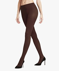FALKE Pure Matt 50 Tights - Brenda (Dark Brown)