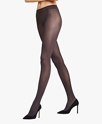 FALKE Seidenglatt 40 Denier Tights - Anthracite