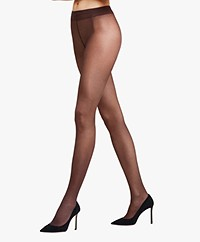 FALKE Seidenglatt 15 Tights - Brenda (Dark Brown)