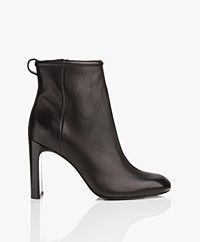 Rag & Bone Ellis Leather Ankle Boots - Black