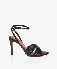 ba&sh Cristal Heeled Sandals - Black