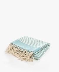 Bon Bini Hammam Towel Nawati 180cm x 90cm - Turquoise
