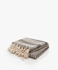 Bon Bini Hammam Towel Rincon 180cm x 90cm - Black