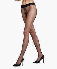 Falke Shelina 12 Denier Ultra Transparent Tights - Black