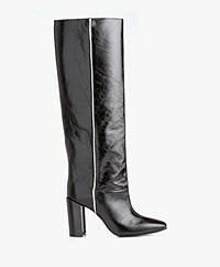 Rag & Bone Aslen Knee-high Leather Boots - Black