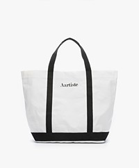 Vanessa Bruno Aartiste Canvas Shopper - Wit