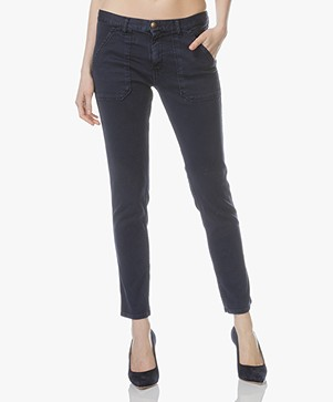 ba&sh Sally Girlfriend Jeans - Marine