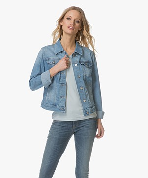 BOSS J90 Portland Denim Jacket - Bright Blue